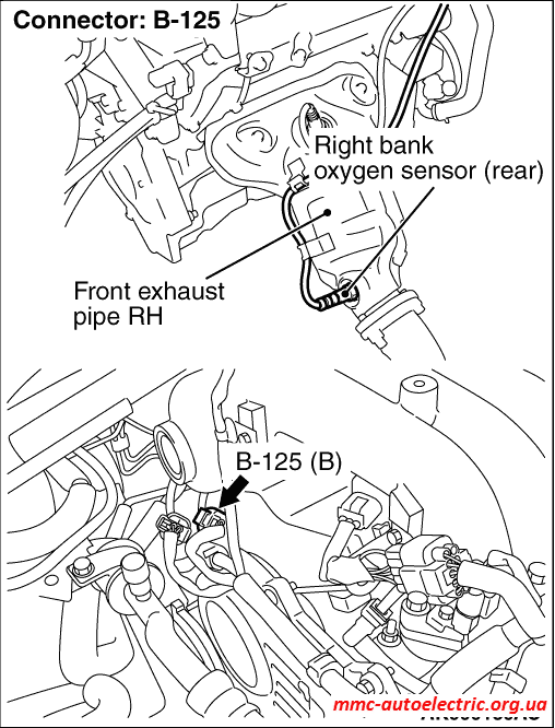 P0037:right bank oxygen sensor (rear) heater circuit low input